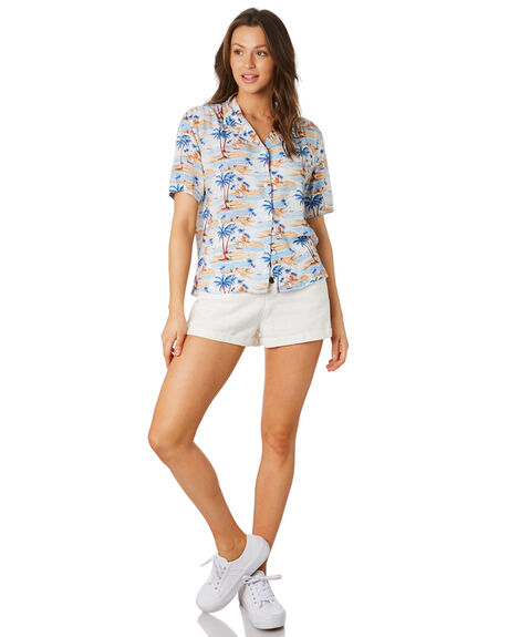 HAWAII OUTLET WOMENS COOLS CLUB FASHION TOPS - 303-CW4HAW