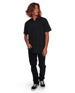 BLACK MENS CLOTHING BILLABONG SHIRTS - BB-9591143-BLK
