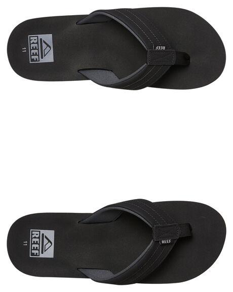 BLACK MENS FOOTWEAR REEF THONGS - A3YKZBLA