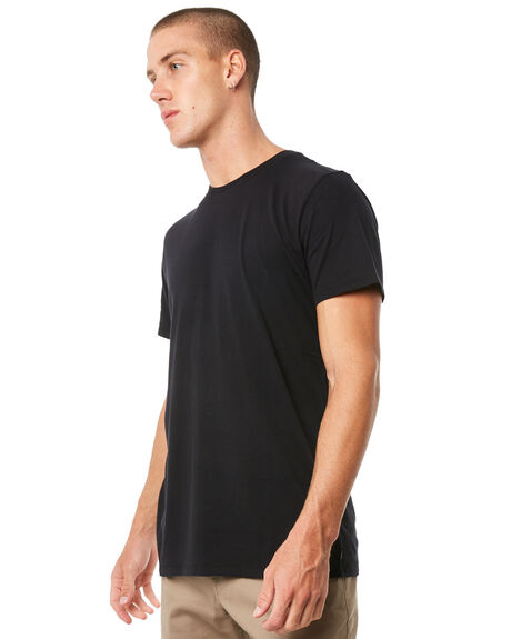 BLACK MENS CLOTHING SWELL TEES - S51640013PCKBLK