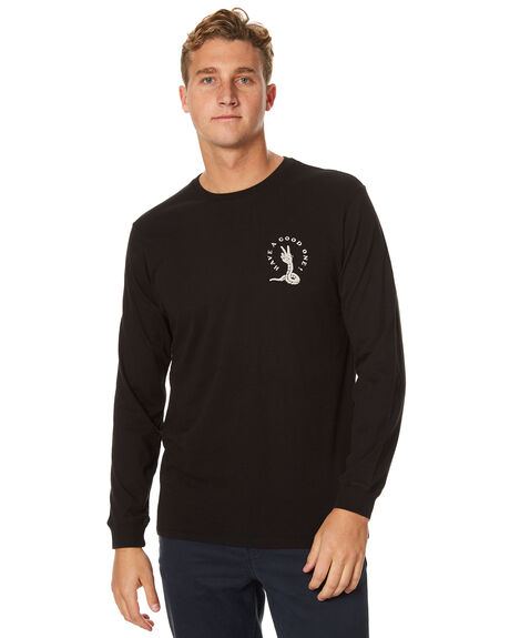 BLACK MENS CLOTHING SWELL TEES - S5174108BLK