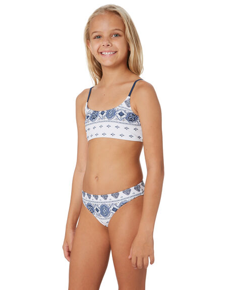 WHITE KIDS GIRLS RIP CURL SWIMWEAR - JSIDP11000