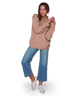BLUSH WOMENS CLOTHING BILLABONG KNITS + CARDIGANS - BB-6508793-BC2