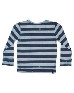 WASHED BLUE KIDS BOYS MUNSTER KIDS TOPS - MK182TL12WBLU