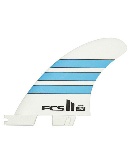 BLUE WHITE BOARDSPORTS SURF FCS FINS - FJWG-PG02-XS-TS