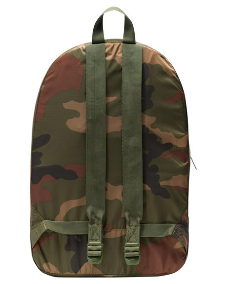 WOODLAND CAMO MENS ACCESSORIES HERSCHEL SUPPLY CO BAGS + BACKPACKS - 10614-01899-OSWDC