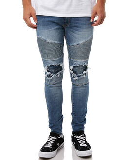 MILWAUKEE BLUE MENS CLOTHING NENA AND PASADENA JEANS - NPMCBP002MILB