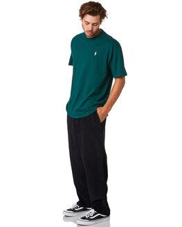 BLUEISH BLACK MENS CLOTHING POLAR SKATE CO. PANTS - PSC-CORDSURF-BLBLK