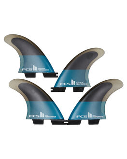 TEAL BLACK BOARDSPORTS SURF FCS FINS - FPER-PC04-QS-RTEABK