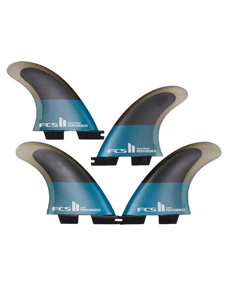 TEAL BLACK BOARDSPORTS SURF FCS FINS - FPER-PC04-QS-RTEABK
