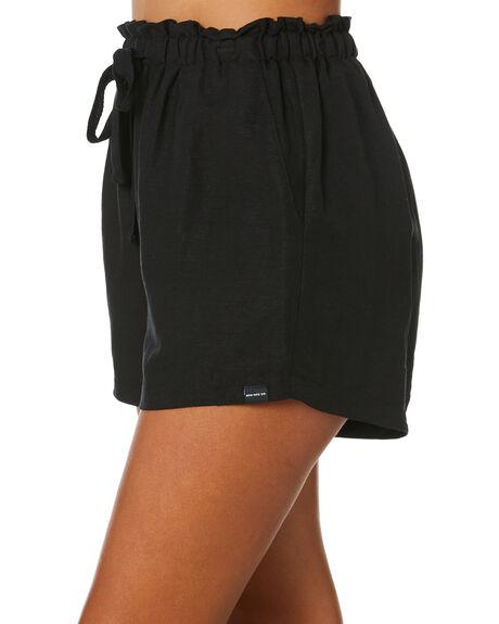 BLACK WOMENS CLOTHING RPM SHORTS - 20SW21BBLK