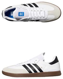 WHITE BLACK GUM MENS FOOTWEAR ADIDAS ORIGINALS SNEAKERS - BY3931WHI