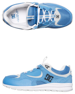 LIGHT BLUE MENS FOOTWEAR DC SHOES SNEAKERS - ADYS100291LBL