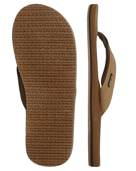 CAMEL MENS FOOTWEAR BILLABONG THONGS - 9661941CAM