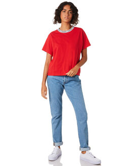 LYCHEE RED WOMENS CLOTHING LEVI'S TEES - 68979-0001RED
