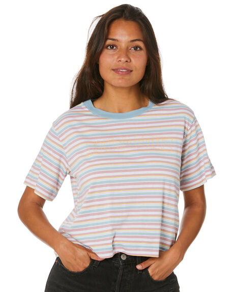 STRIPE WOMENS CLOTHING SANTA CRUZ TEES - SC-WTD0275STR