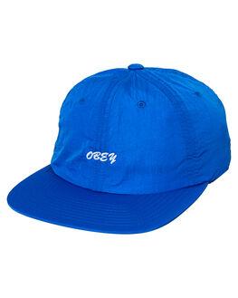 SKY BLUE MENS ACCESSORIES OBEY HEADWEAR - 100580172SKY