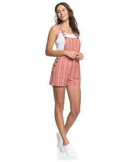 BRUSCHETTA STRIPE WOMENS CLOTHING ROXY PLAYSUITS + OVERALLS - ERJWD03456-MNP3