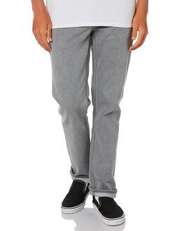 DAZE GREY MENS CLOTHING VOLCOM JEANS - A1931503DZG