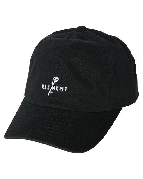 BLACK MENS ACCESSORIES ELEMENT HEADWEAR - 183607ABLK