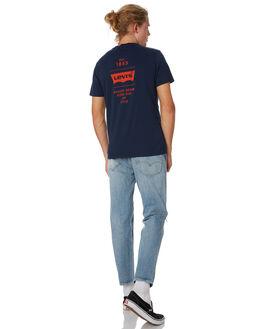 DRESS BLUES MENS CLOTHING LEVI'S TEES - 22491-0543DRBLU