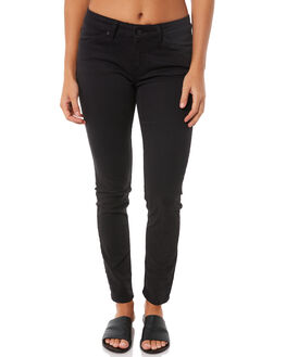TRUE BLACK WOMENS CLOTHING ROXY JEANS - ERJDP03182KVJ0
