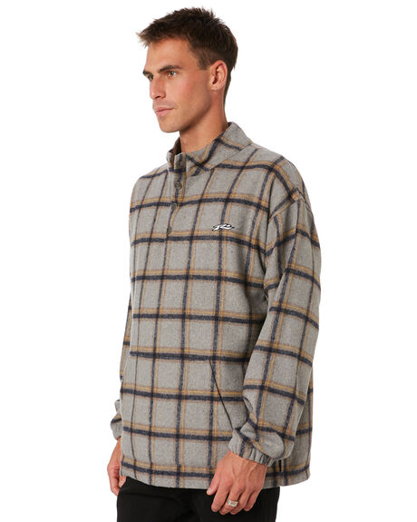 GREY MARLE MENS CLOTHING RUSTY JUMPERS - FTM0951GMA