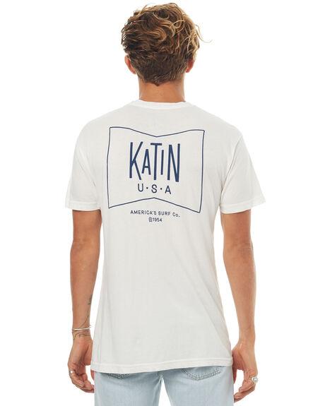 WHITE MENS CLOTHING KATIN TEES - TSGRUF16WHT