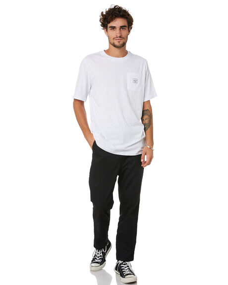 BRIGHT WHITE MENS CLOTHING HERSCHEL SUPPLY CO TEES - 50028-00535