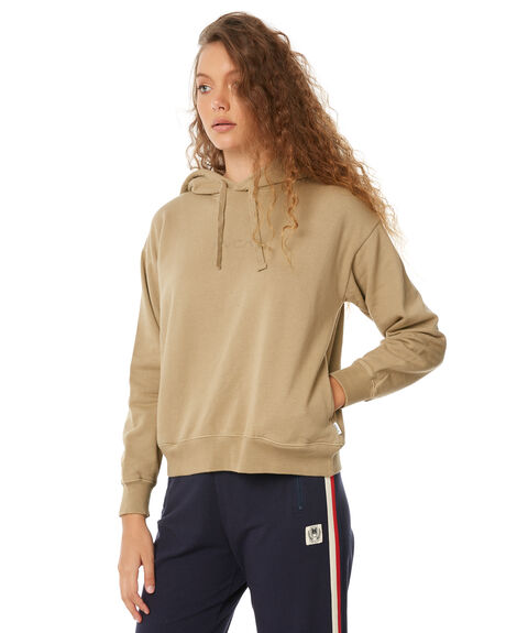 GOLDRUSH WOMENS CLOTHING RVCA JUMPERS - R283169GOLD