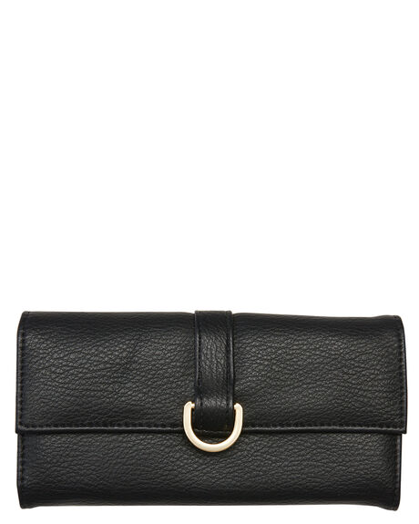 BLACK OUTLET WOMENS RUSTY PURSES + WALLETS - WAL0756BLK
