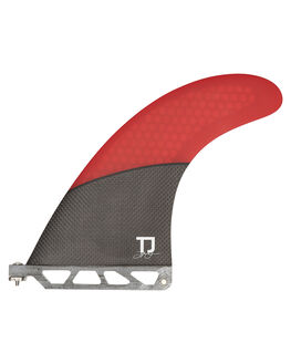 BLACK RED BOARDSPORTS SURF FUTURE FINS FINS - TJ7-00-1108BLKR