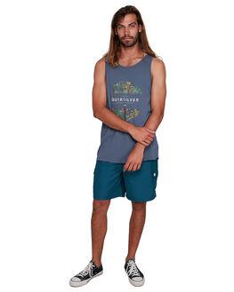 NIGHT SHADOW MENS CLOTHING QUIKSILVER SINGLETS - EQYZT05682-BPT0