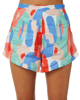 MOSAIC WOMENS CLOTHING COOLS CLUB SHORTS - 605-CW5MOS