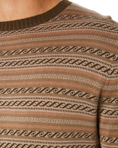 MULTI MENS CLOTHING RHYTHM KNITS + CARDIGANS - JUL19M-KN03-MUL