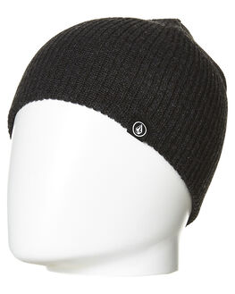 BLACK MENS ACCESSORIES VOLCOM HEADWEAR - D5831501BLK