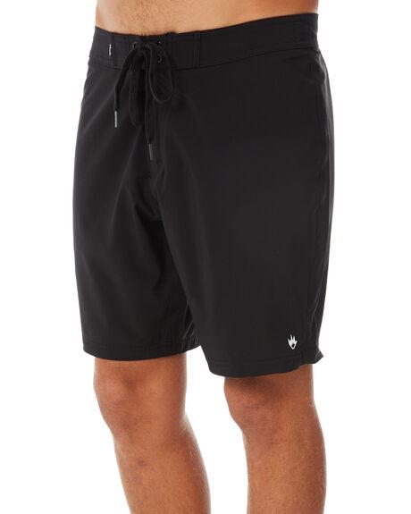 BLACK MENS CLOTHING AFENDS BOARDSHORTS - M182300BLK