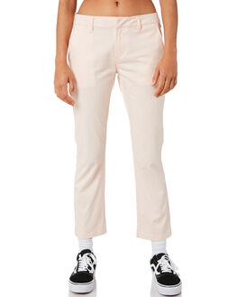 CLOUD PINK WOMENS CLOTHING VOLCOM PANTS - B1111800CLD