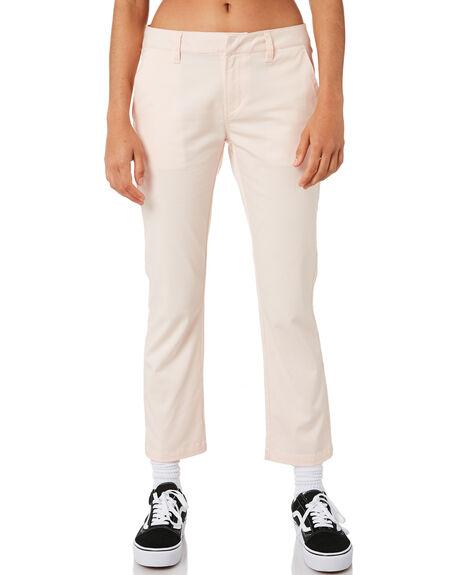 CLOUD PINK WOMENS CLOTHING VOLCOM PANTS - B1111800CLD