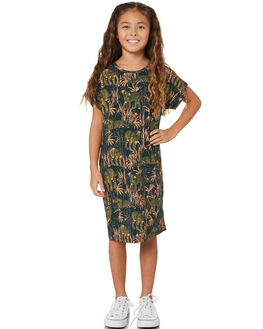 IN THE JUNGLE KIDS GIRLS MUNSTER KIDS DRESSES + PLAYSUITS - MM201DR02KITG