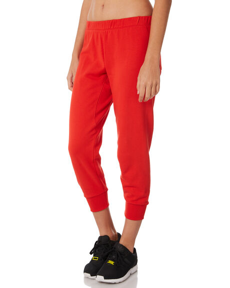 RED WOMENS CLOTHING THE UPSIDE PANTS - UPL1890RED