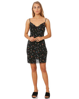 CONFETTI FLORAL WOMENS CLOTHING THE EAST ORDER DRESSES - EO191031DCONF
