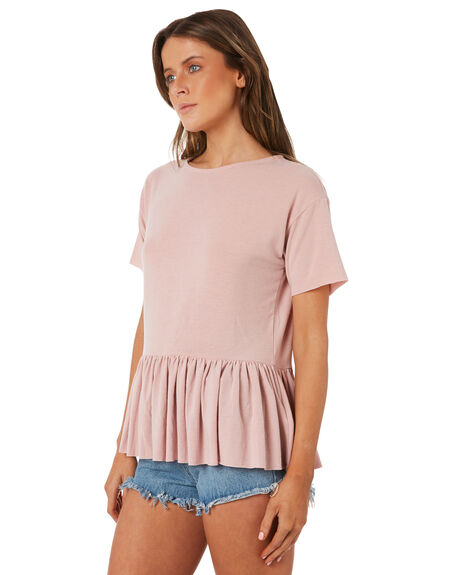 BLUSH WOMENS CLOTHING SWELL TEES - S8184169BLUSH