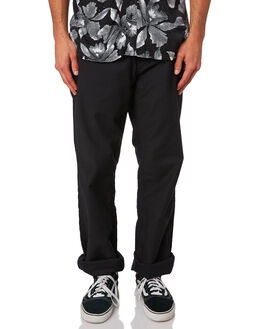 BLACK MENS CLOTHING VOLCOM PANTS - A1131806BLK