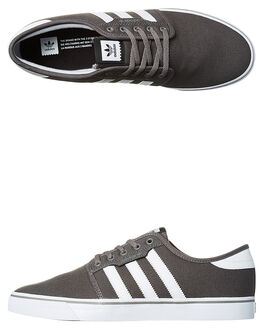 ASH WHITE BLACK MENS FOOTWEAR ADIDAS SNEAKERS - SSAQ8528ASHM