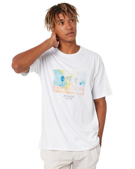 WHITE MENS CLOTHING BARNEY COOLS TEES - 111-Q320WHT