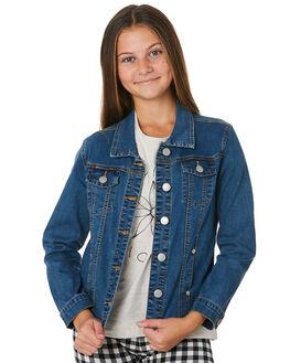 DENIM KIDS GIRLS EVES SISTER JUMPERS + JACKETS - 9540054DEN