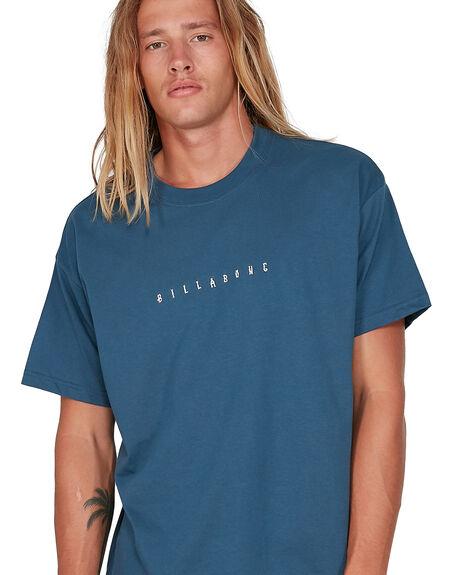 DENIM BLUE MENS CLOTHING BILLABONG TEES - BB-9504032-DNB