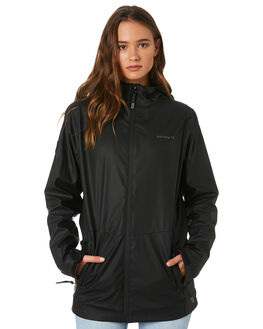 BLACK WOMENS CLOTHING RPM JACKETS - 9AWT18BBLK