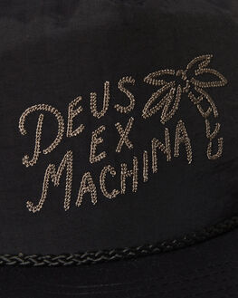 BLACK MENS ACCESSORIES DEUS EX MACHINA HEADWEAR - DMP97730BLK
